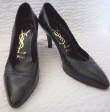 Винтажные <b>Yves Saint Laurent</b> туфли на каблуке для женский ...