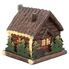 cabin decor lodge sled:  bear cabin nightlight