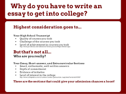Example Essays In  Buy college application essays