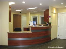 witching home office interior design ideas with curved shape front desk and combine black wheeled chair brilliant small office decorating ideas