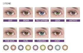 Цветные <b>контактные линзы</b> Adria <b>Color</b> 3 Tone (2 шт.) по цене <b>1</b> ...