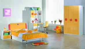 bedroom kid: bedroom awesome children design ideas childrens stunning inspiration furniture yellow high gloss cabinet modern desk chair kids