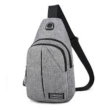 Oxford cloth <b>chest</b> bag <b>men's</b> casual <b>shoulder bag Messenger bag</b> ...