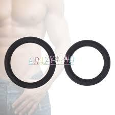 3Pcs <b>Silicone</b>/Metal Cock Rings <b>Time Delay Condoms</b> Men Penis ...