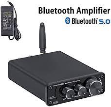 [2020 Upgraded] Bluetooth 5.0 Stereo Audio Amplifier ... - Amazon.com