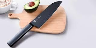Набор кухонных ножей <b>Xiaomi</b> Huo Hou Black Heat <b>Knife</b> Set (2 шт.)