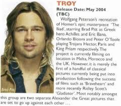 Brad Pitt Troy Quotes. QuotesGram via Relatably.com