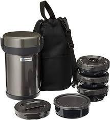 Zojirushi <b>Stainless Steel Vacuum</b> Insulated Tiffin Box: Amazon.ca ...