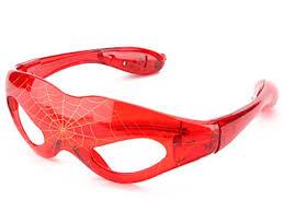 <b>Очки Человек</b> -<b>паук</b> светящиеся 3 режима - Агрономоff