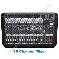 MICWL Double Group Audio Sound Mixer Professional 16 Channel ...