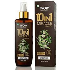 WOW 10-in-1 Active Miracle Hair Oil - No Parabens ... - Amazon.com
