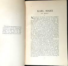 essay on karl marx what did karl marx mean by exploitation in a karl marx essayessay on karl marx karl marx an essay harold j laski first