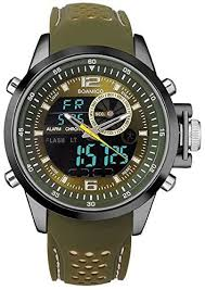 BOAMIGO F533 <b>Men</b> Sports Watches <b>Dual Display</b> Analog Digital ...