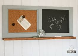 Kitchen Message Center Repurposed Kitchen Cabinets Into Home Decor Prodigal Pieces
