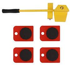 Walmeck <b>Furniture Lifter</b> Easy Moving Sliders 5 Packs Mover Tool ...
