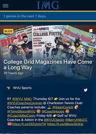 WVU Gameday App - West Virginia University Athletics