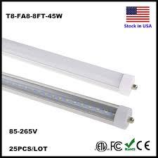 Online Shop LED T8 8ft <b>Tube</b> Light <b>Single Pin</b> FA8 45W <b>Tubes</b> 8 ft ...