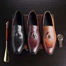 <b>Plus Size 38-48</b> Men Dress Tassel Loafers Vintage British Style ...