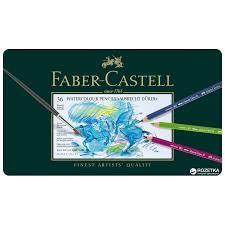 Набор цветных <b>акварельных карандашей Faber</b>-<b>Castell</b> Albrecht ...