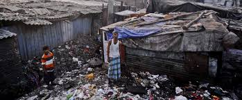 urban poverty in slamming the slums