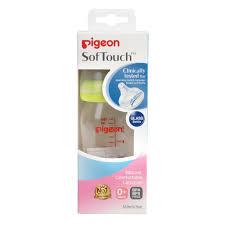 <b>Бутылочка</b> стеклянная <b>PIGEON Peristaltic</b> Plus, 160 мл — купить в ...