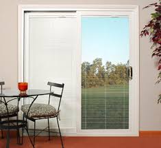 blinds sliding glass doors beautiful