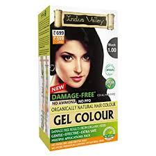 Buy Indus Valley <b>Natural</b> Damage Free Gel Colour For <b>Hair</b> Black ...