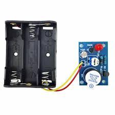 <b>5pcs Photosensitive</b> Acousto-optic Alarm Kit Electronic Production ...