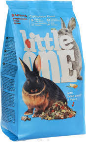 <b>Little One</b> полнорационный <b>корм</b> для кроликов