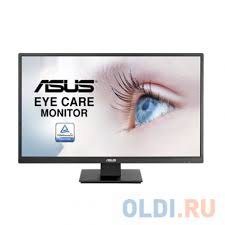 "Монитор <b>27</b>"" ASUS VA279HAE <b>Black</b> (LED, Wide, 1920x1080, 6ms ..."