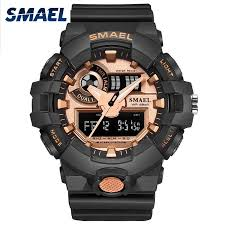 <b>Men Watches</b> Sport Quarz <b>Watch Digital SMAEL</b> Brand <b>Men's</b> ...