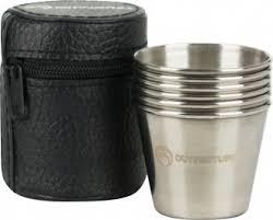 <b>Набор</b> посуды из <b>6</b> рюмок Outventure темно-серый цвет — купить ...