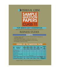 oswaal cbse sample question papers for class 11 business studies oswaal cbse sample question papers for class 11 business studies for 2017 exams
