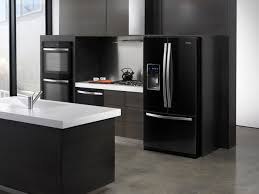 black and stainless kitchen deciding between black white or stainless steel kitchen appliances in kelowna geniers appliances