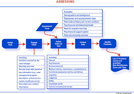 case management knowledge ccmc s case management body of the case management process assessing view larger image