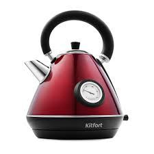 <b>Чайник Kitfort KT</b>-<b>644</b>-3, красный купить по цене <b>2</b> 190 руб. руб ...