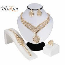 <b>MUKUN 2019</b> Exquisite Dubai Gold Jewelry Set Brand Nigerian ...