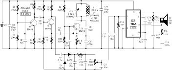 metal detector schematic circuit diagram  audio amplifier    metal detector schematic circuit diagram