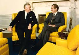how whitlam rattled the anzus alliance dear mr president the gough whitlam and richard nixon in the oval office 30 1973 acirccopy richard