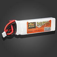 <b>ZOP Power 11.1V 2200mAh</b> 3S 20C Lipo Battery T Plug - Buy ...
