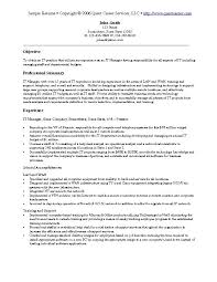 sample resume example    it resume  software development resume    sample resume  a