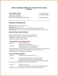 cover letter resume format sample resume format sample pdf resume cover letter basic resume format example of simple sample for studentsresume format sample large size