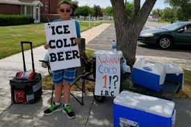 Police called over boy selling '<b>ice cold beer</b>' find it was just a ...