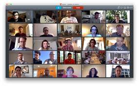f digital service delivery f s best practices for making a grid of 18f team members using video chat to attend a meeting