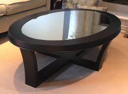 dining room table mirror top: room  black oval coffee table oval coffee table glass top