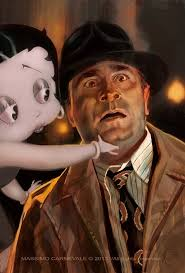 The Great Film Art of Massimo Carnevale » Who Framed Roger Rabbit. Leave a Comment. Who Framed Roger Rabbit
