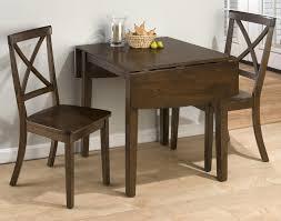 three piece dining set: taylor cherry  piece drop leaf kitchen table amp side chair set belfort furniture dining  piece set