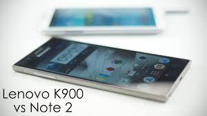 Samsung Galaxy Note 2 vs Lenovo K900 (5.5