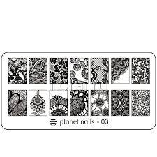 <b>Пластина для</b> Stamping Nail Art <b>Planet Nails</b>. Купить оптом
