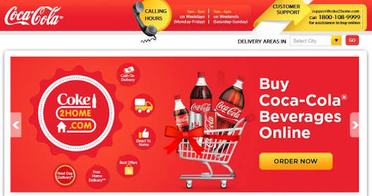Coke2home - get Rs49 off on Rs99